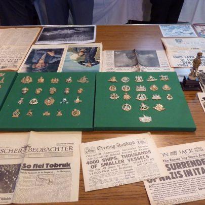 Lots of memorabilia | Janet Penn