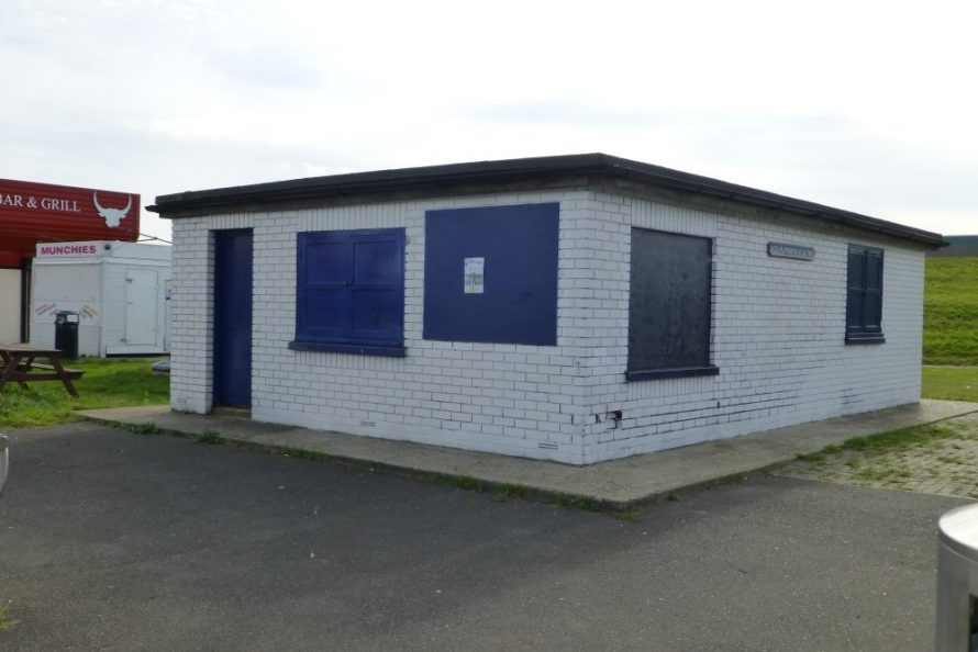 Canvey's Coastwatch are taking over the old first aid post down the seafront and are hopeful they will be able to build a new three story station on the site. | Janet Penn