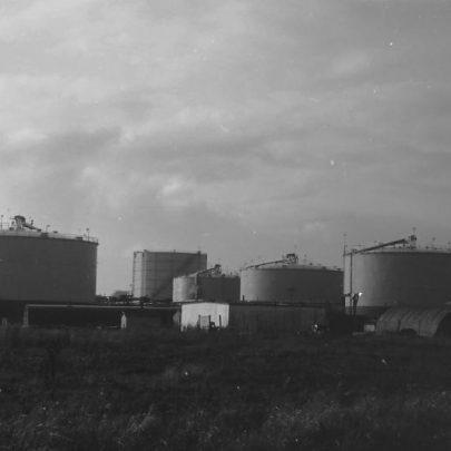 Gas terminal? | Ralph Burtonshaw