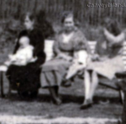 Three ladies, a baby and a child on the bench - Is this you?   Dave Bullock