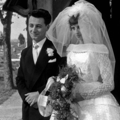 Peter Thomas & Shirley Hollingbery, April 30th 1960 | Shirley Thomas