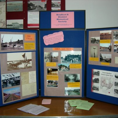 Benfleet and District Historical Society Display | Janet Penn