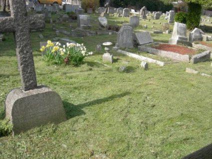 St Katherine's grave plots D-J