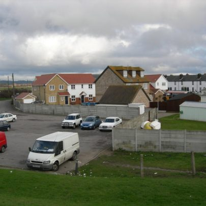 The Coastguards Cottages now surrounded by houses | Janet Penn