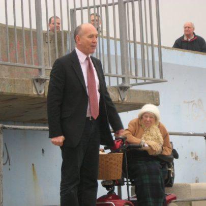 Bob Spink and Doris Flaherty | Steve Bullock