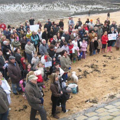 'Save Our Pool' Concord Beach | Steve Bullock
