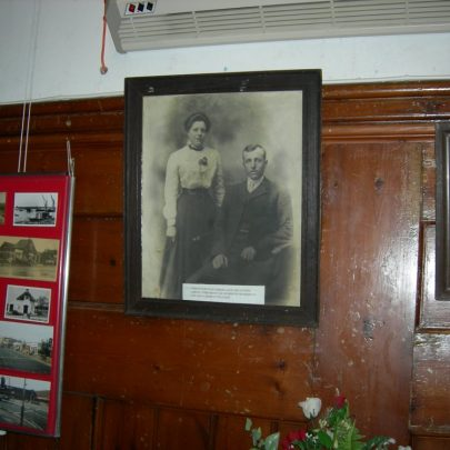 This picture is of Farmer Frederick Leach & his wife Amelia. The were born in the late 1880's. | Janet Penn