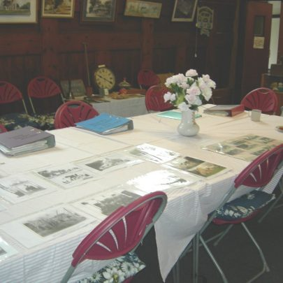 Lots of old pictures and books containing history of the Island | Janet Penn