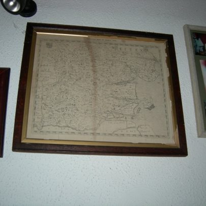 Old map of Essex dated 1589 | Janet Penn