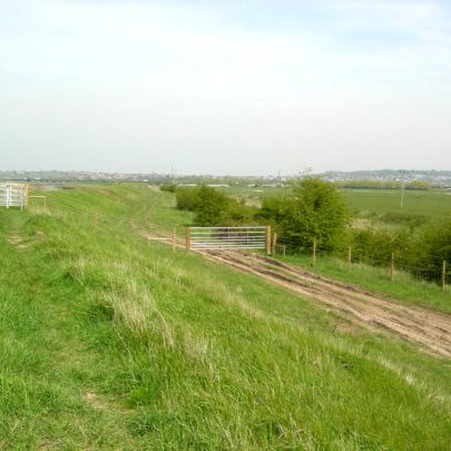 View from the Seawall looking North to Benfleet | Janet Penn