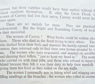 To the Women of Canvey