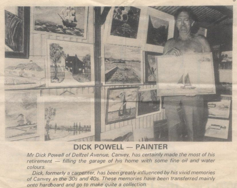 1976 newspaper cutting | Richard Powell