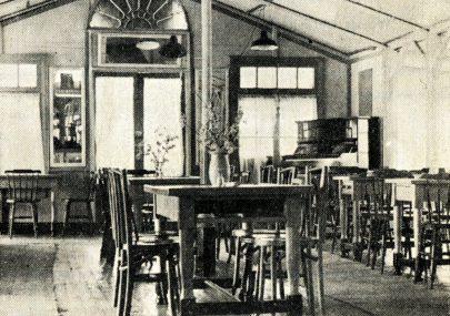 Inside the Pavillion 1949