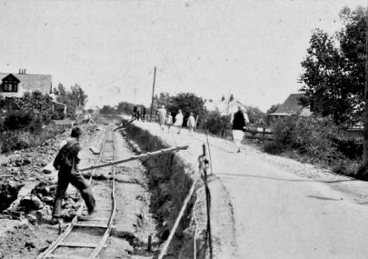 Lowering the road
