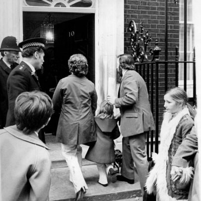 Arriving at 10 Downing Street. | Echo Newsapers
