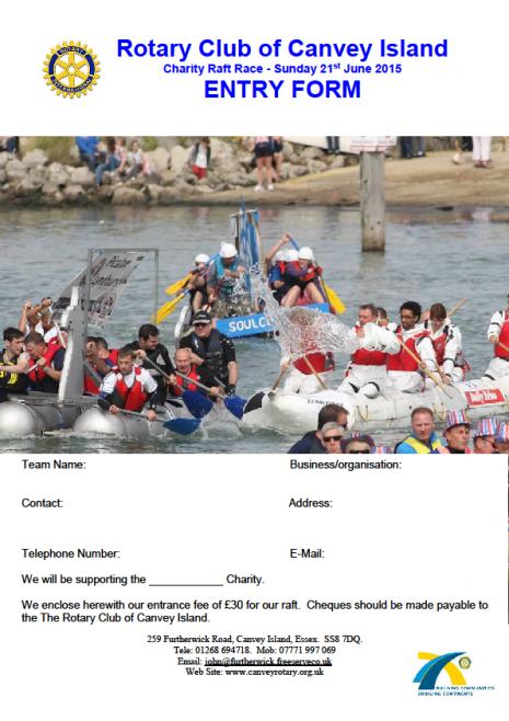 Canvey Rotary Raft Race