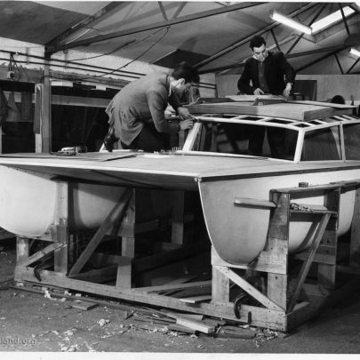 Building the main cabin structure   Don Rayner