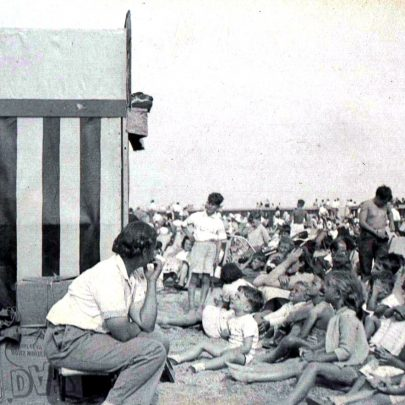 Punch & Judy on Beach 1950's | (c) 2010 Tricia Booth