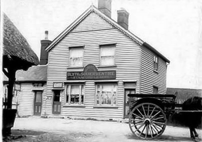 Old photo of the Red Cow