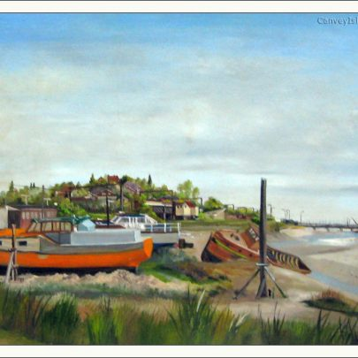Benfleet Creek with the bridge | Ralph Hollingdale