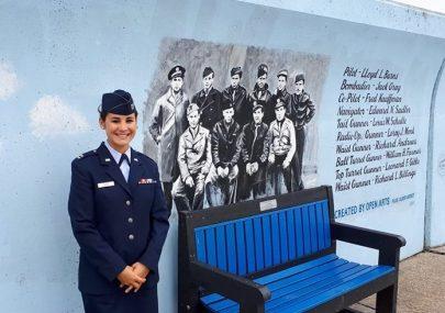 Captain Rebecca Bairds USAF