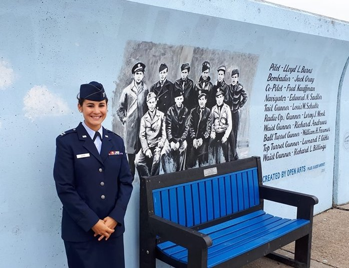 Captain Rebecca Bairds USAF | Courtesy of Barry Campagna