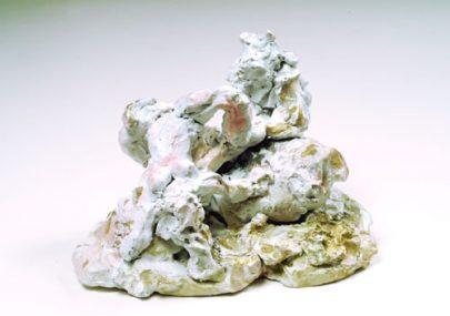 "Turner Prize nominee Rebecca Warren's 2003 sculpture ""Canvey Island""."
