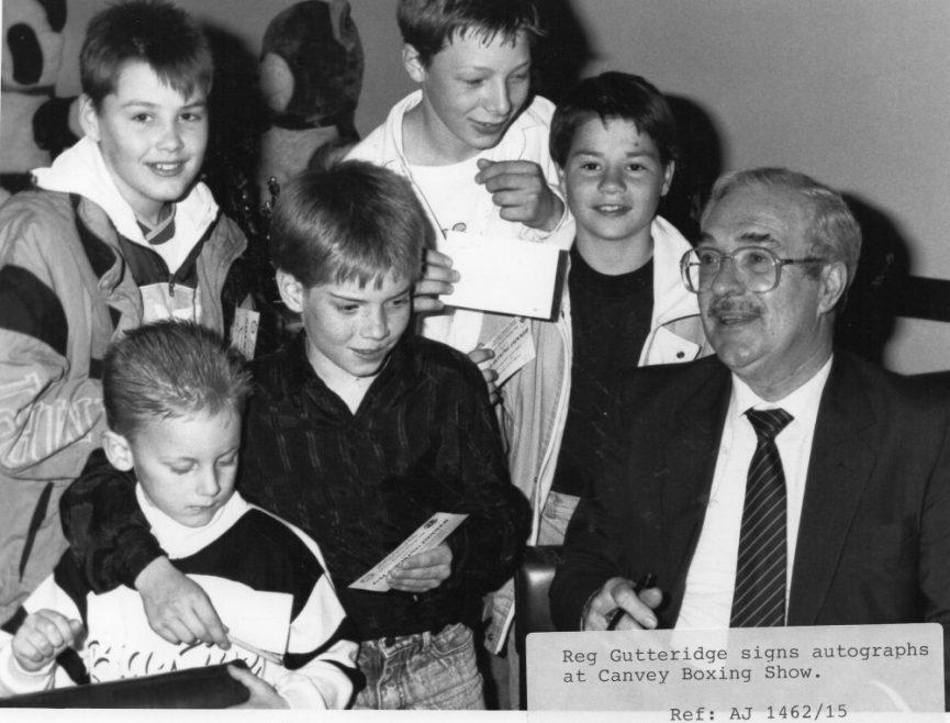 Reg Gutteridge 1989   Echo Newspaper Archive