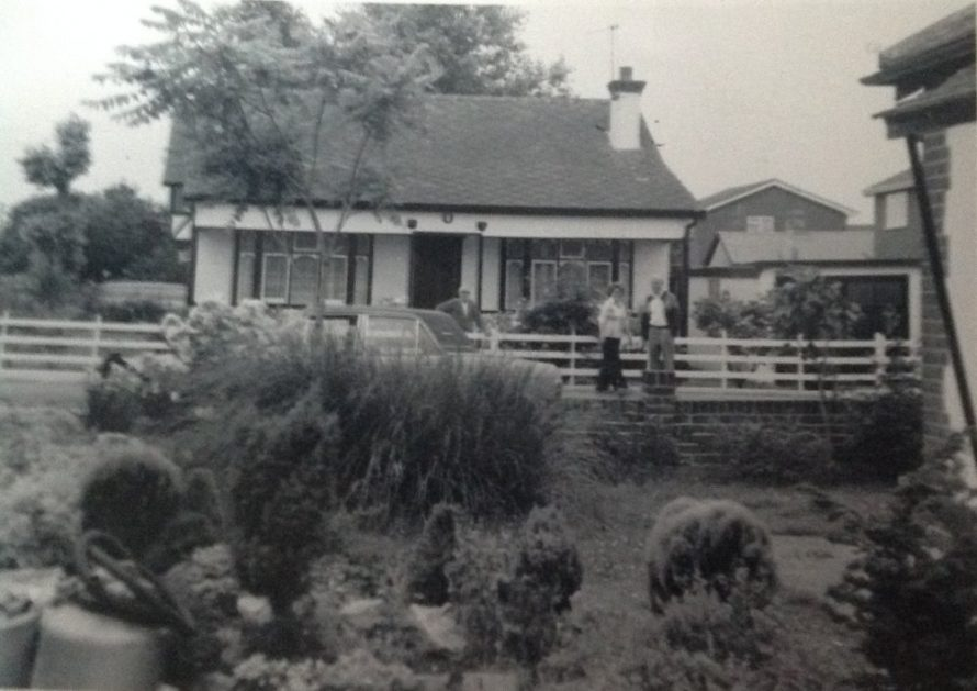 This bungalow was called Rex and was in Maurice Road, corner of Rayment Avenue. | David Kemp