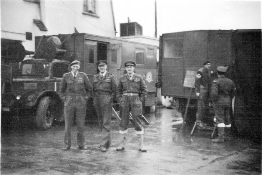 Officers and members of the RAF in Operation King Canute | Carol Frost