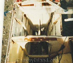 Starboard Transom Rebuild | Alan Winter