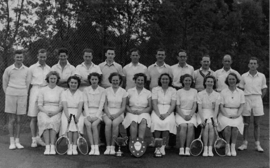 Canvey Tennis Club. | Stanley Perry