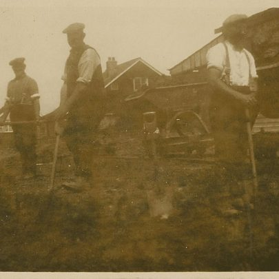 Unknown workmen and where?   John Hawes