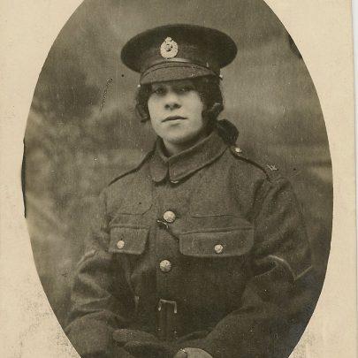 Maud Crow, Ambulance driver   John Hawes