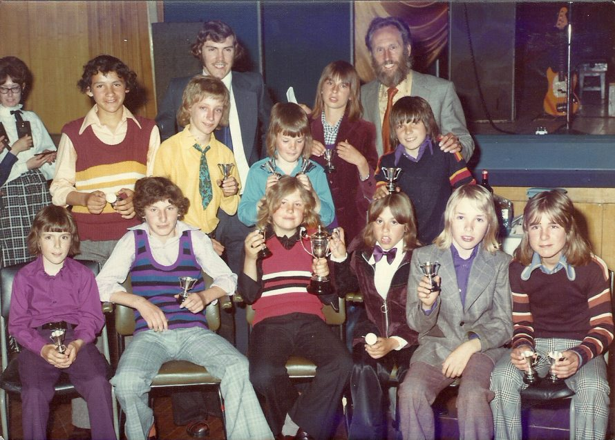 Front row first left: David Sickelmore