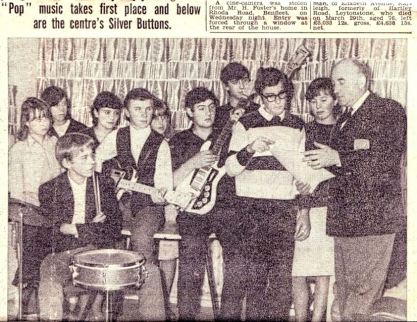 From a newspaper article about the band.