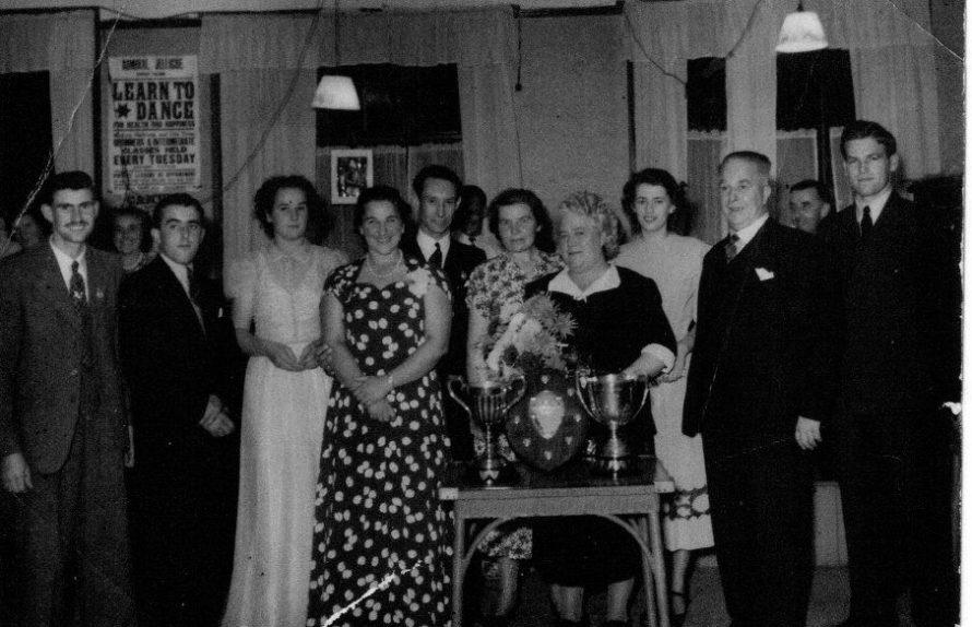 A presentation in the Admiral Jellicoe Pub. | Stanley Perry