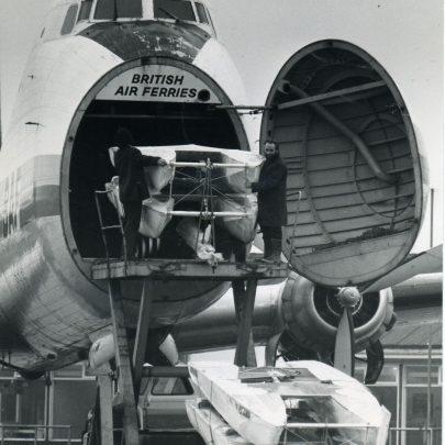 Loading Swifts into aircraft   Ian