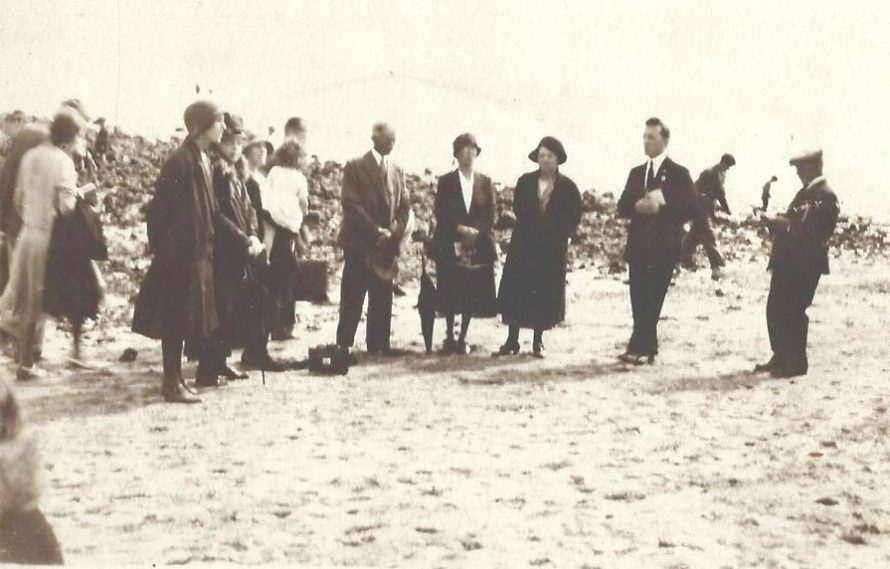 Official Gathering on the Beach