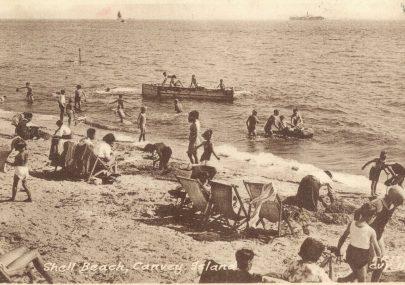 Frith Shell Beach Postcard