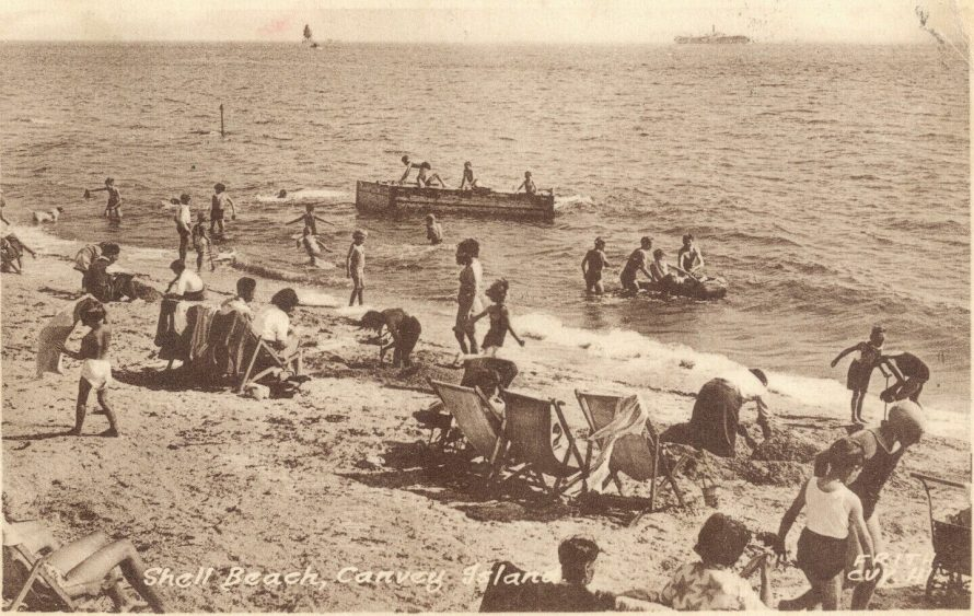 Frith Shell Beach Postcard