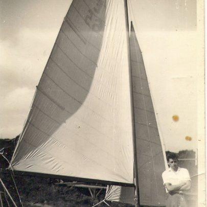 Enterprise dingy built 1959 | Mike Brown