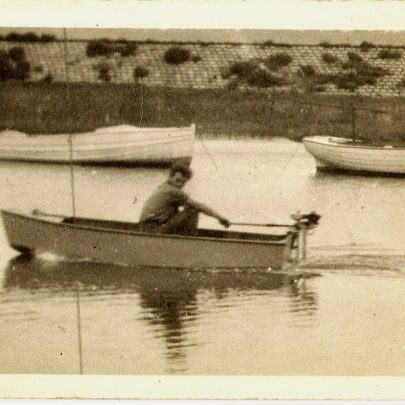 Dingy built in 1957 to replace the one taken by the Army in 53 Floods | Mike Brown