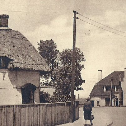 The village and Dutch cottage