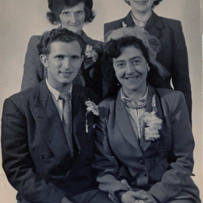 Marriage of Ivy Cain to John Edwards in 1952 | David Cain