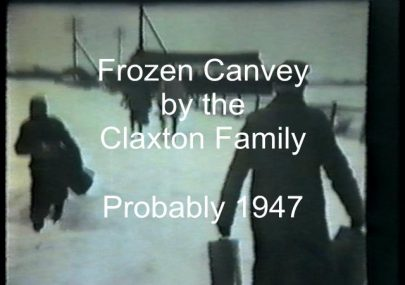 Old film of Frozen Canvey
