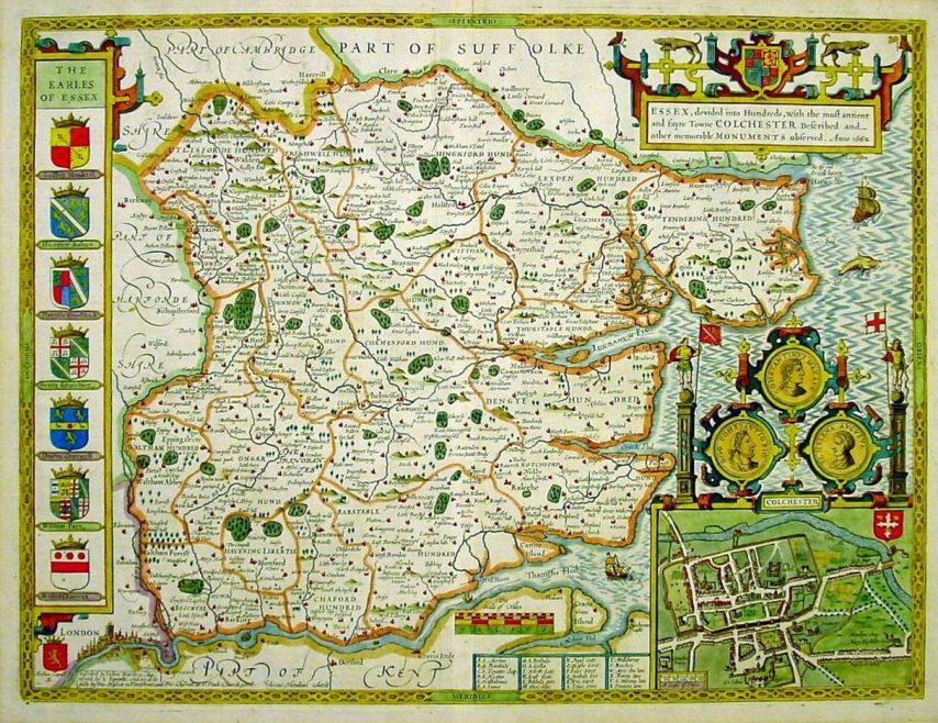 Essex Map 1676