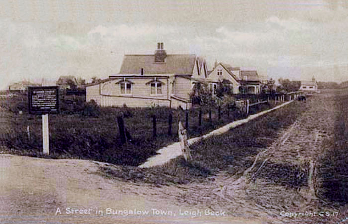 A Street in Bungalow Town, Leigh Beck