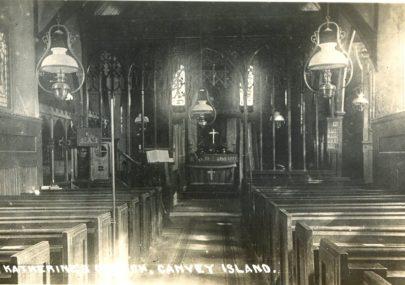 Inside St Katherine's