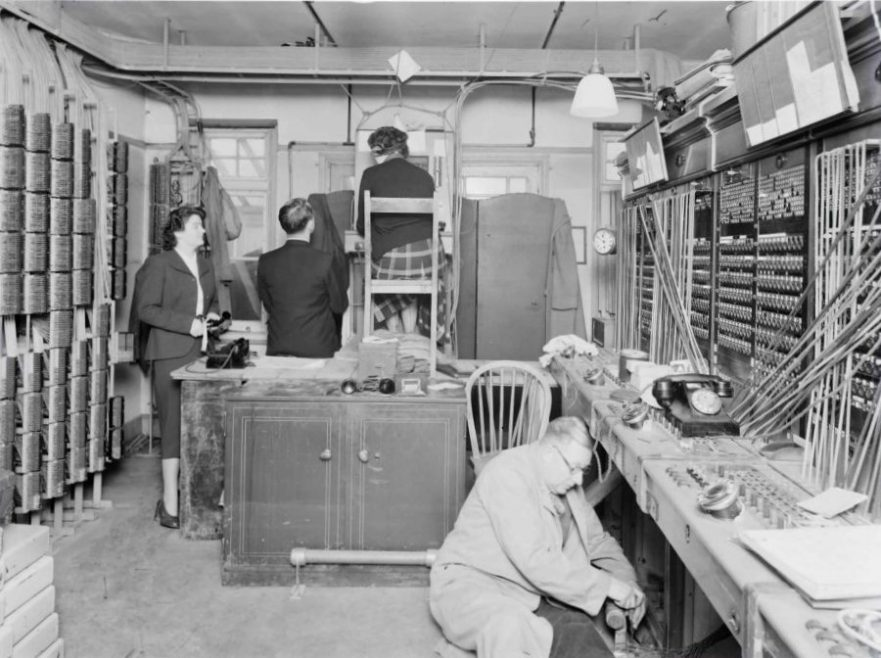 Temperary Switchboard | ©BT Heritage